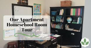 Homeschool Desk Our Apartment Homeschool Room Tour Mercer Homeschooling