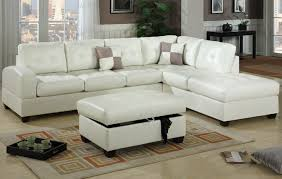 White Leather Sofa Sectional White Leather Sectional Sofa F7359 Lowest Price Sofa
