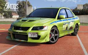 mitsubishi evolution 1 mitsubishi lancer evolution 2fast 2furious gta5 mods com