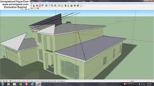 complex hipped roof construction in sketchup youtube
