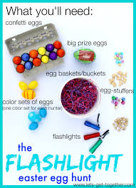 easter egg hunt ideas the flashlight easter egg hunt