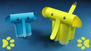 cool elephant craft easy fun craft ideas for kids with paper