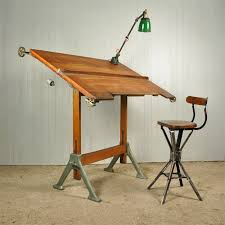 Drafting Table Uk 1940 S Architect S Drafting Table Vintage Industrial Furniture