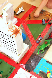 Homemade Toy Box by Diy Toy Cardboard City Diy Toys Toy And Box