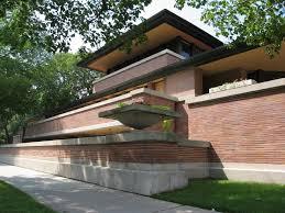 simple design archaic frank lloyd wright prairie style home
