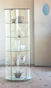 glass cabinet furnitures unique clear glass cabinet modern structure