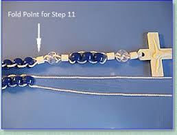 how to make a rosary rosary makers guide pony bead rosary