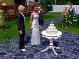 Wedding Cake In The Sims 4 The Perfect Sims 3 Wedding Youtube