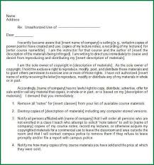 letter of cease and desist template cease and desist letter