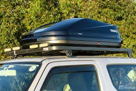 Thule 614 by Thule Roof Box Reviews Flat Roof Pictures