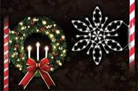 Commercial Christmas Pole Decorations by Commercial Christmas Decorations Led Christmas Lights And Decor