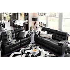 Power Reclining Sofas And Loveseats by Brisco Power Reclining Sofa And Reclining Loveseat Set Black