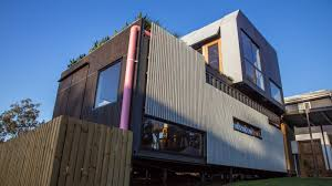 eamples of large shipping container homes living inside homes