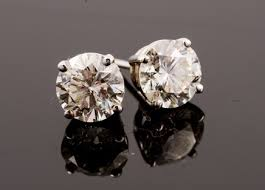 big stud earrings diamond stud earrings how big is big