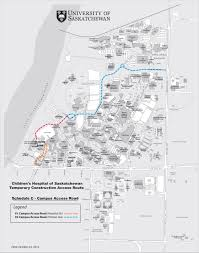 Map Of U Children U0027s Hospital Access Facilities Management Division