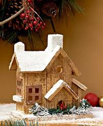 lighted wood winter houses ltd commodities