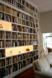 Library Bookcases With Ladder Library Ladders Alaco Ladder