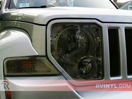 red jeep liberty 2008 rtint jeep liberty 2008 2012 headlight tint film