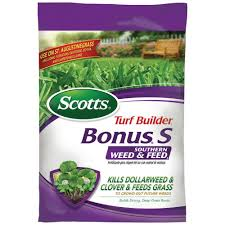 scotts bonus s 17 47 lb 5 000 sq ft southern weed and feed