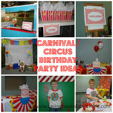 carnival birthday party ideas carnival circus theme birthday party ideas saving toward a better