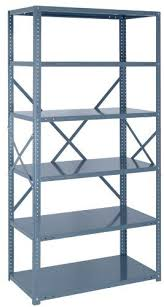 Heavy Duty Steel Shelving by Steel Shelving Unit Open 22 Gauge Ironman 7 Shelves 18 X 42 X 75