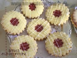 gateau amour de cuisine sables a la confiture de fraises amour de cui