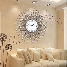 Living Room Wall Clock | amazon com cggghy stylish living room wall clock creative modern