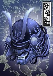 hannya mask samurai tattoo samurai mask by tylerrthemesmer on deviantart