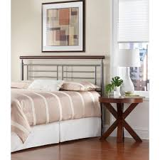 Metal Headboard Bed Frame Fashion Bed Group Lucinda King Size Metal Headboard With Intricate