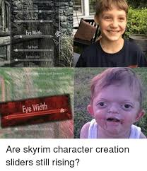 Meme Face Creator - 25 best memes about skyrim character creation skyrim character