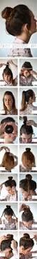best 25 donut bun hairstyles ideas on pinterest easy hair buns