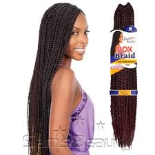 medium size packaged pre twisted hair for crochet braids freetress synthetic hair crochet braid medium box braids 20