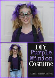 purple minion costume diy purple minion costume make it yourself girl