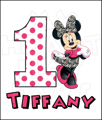 baby minnie mouse 1st birthday clipart clipground