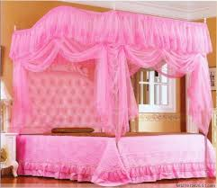 Pink Canopy Bed Pink Girl Bedroom Ideas Best Home Design Ideas