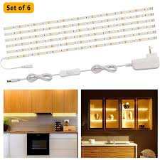 counter kitchen cabinet lights speclux led lights bar led cabinet lighting kits 9 84ft counter light for kitchen cupboard desk monitor