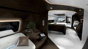 yacht interior design mercedes reveals luxury aircraft and yacht interiors