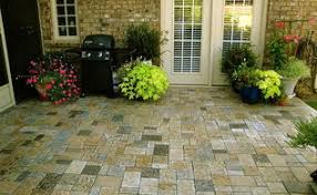 Granite Patio Pavers Diy A New Patio Made Of Solid Granite Pavers Easy To Install