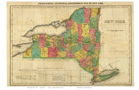 Upstate New York Map by Great Example Of The