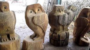 a chainsaw carving sussex wooden garden sculptures made