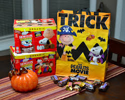 safeway has the peanuts movie trick or treat bags dad logic