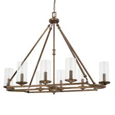 Monte Carlo Villager Ceiling Fan This 8 Light Chandelier From The Avanti Collection Features A