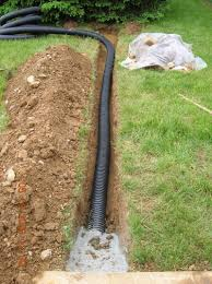water drainage around house this old house with an excellent