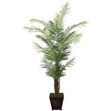 laura ashley 7 ft tall realistic silk areca palm tree with