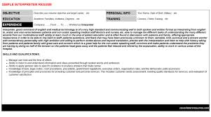 Spanish Interpreter Resume Sample by Somali Interpreter Resumes U0026 Cover Letters