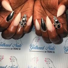 colored acrylic nail sets gathered nails toni u0027s closet boutique