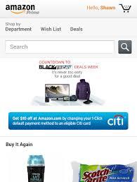 amazon black friday credit card great deal 10 free money from amazon u0026 citi