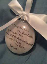 in memory gift memorial remembrance ornament as as