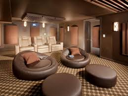 Reclining Chair Theaters Trends In Home Theater Seating Hgtv