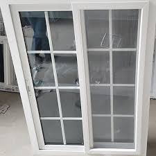 Awning Window Fly Screen Heat Insulation Silding Upvc Vinyl Windows And Doors With Fly